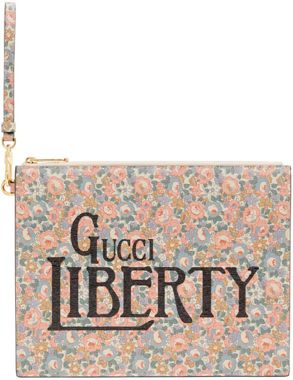 Gucci Multicolor Liberty London Edition Shang Abbey Pouch