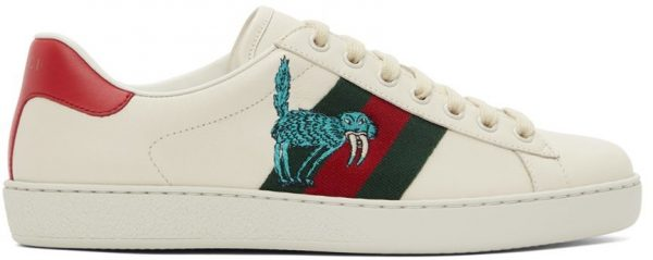 Gucci Off-White Freya Hartas Ace Sneakers