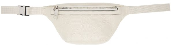 Gucci Off-White GG Embossed Belt Bag