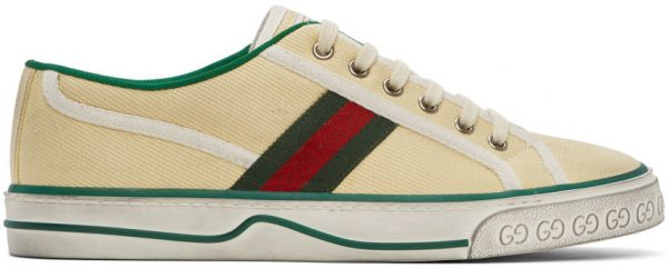 Gucci Off-White GG 'Gucci Tennis 1977' Sneakers