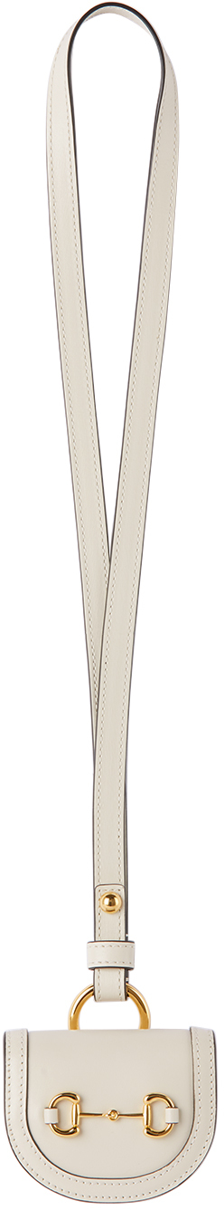 Gucci Off-White 'Gucci 1955' Horsebit AirPods Case