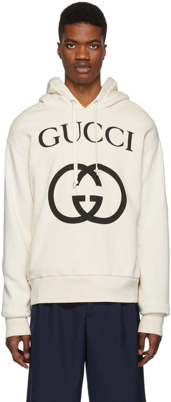 Gucci Off-White Interlocking G Hoodie