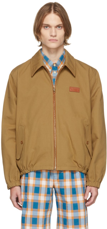 Gucci Reversible Khaki GG Jacket