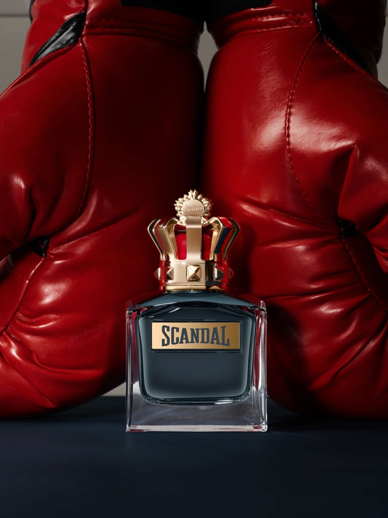 Parker Hits the Ring for Jean Paul Gaultier Scandal Fragrance Ad