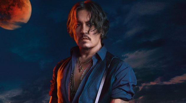 Johnny Depp stars in the fragrance campaign for Dior Sauvage Elixir.