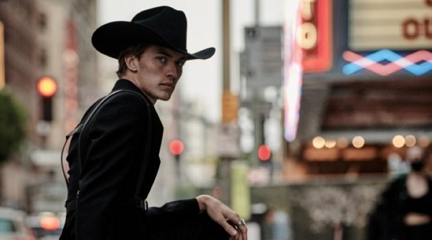 Midnight Cowboy: Lucky Blue Smith Stars in GQ Style Russia Cover Shoot