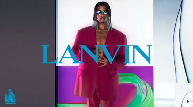 Luv Resval Goes Bold for Lanvin Fall '21 Campaign