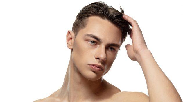 Male Beauty Image Clear Skin