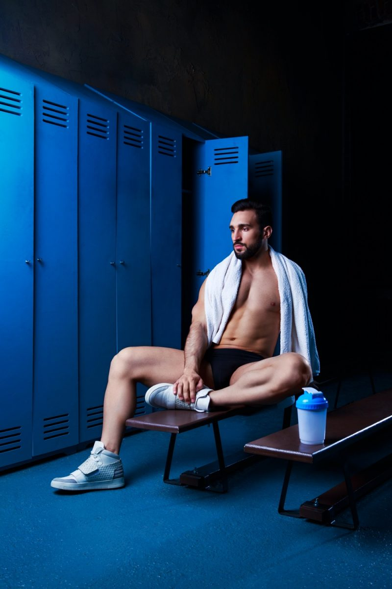 Man Locker Room Underwear
