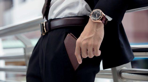 Man Putting Wallet in Pocket