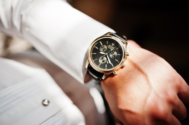 Man Rolex Wristwatch