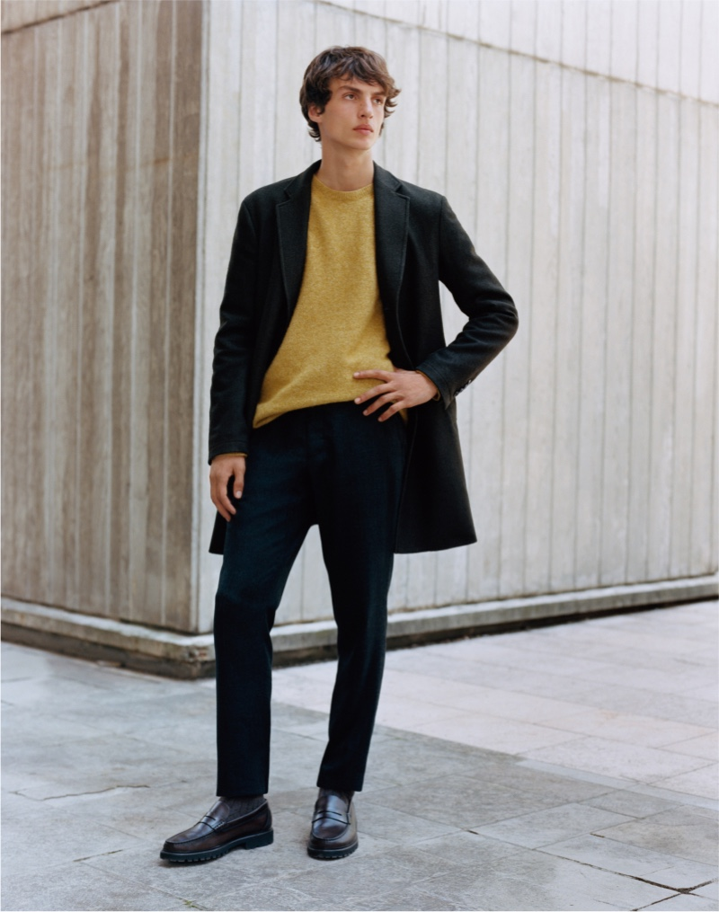 Massimo Dutti Stands by the Classics for Limited Edition Collection