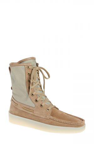 Men's Fear Of God Boat Lace-Up Boot, Size 9-9.5US - Beige