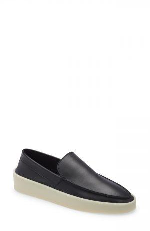 Men's Fear Of God Loafer, Size 9.5W-10US - Black