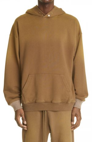 Men's Fear Of God The Vintage Hoodie, Size Large - Brown
