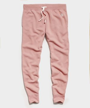 Midweight Slim Jogger Sweatpant in Cider