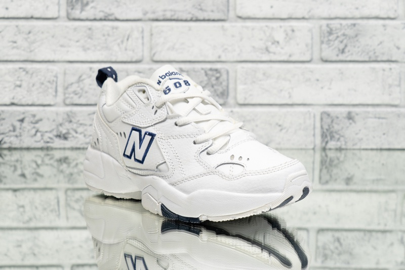 New Balance 608 White Sneakers