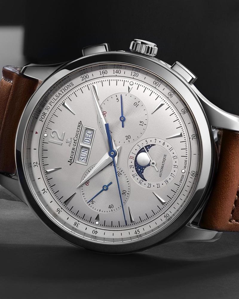 Jaeger LeCoultre Master Control Chronograph Calendar Watch