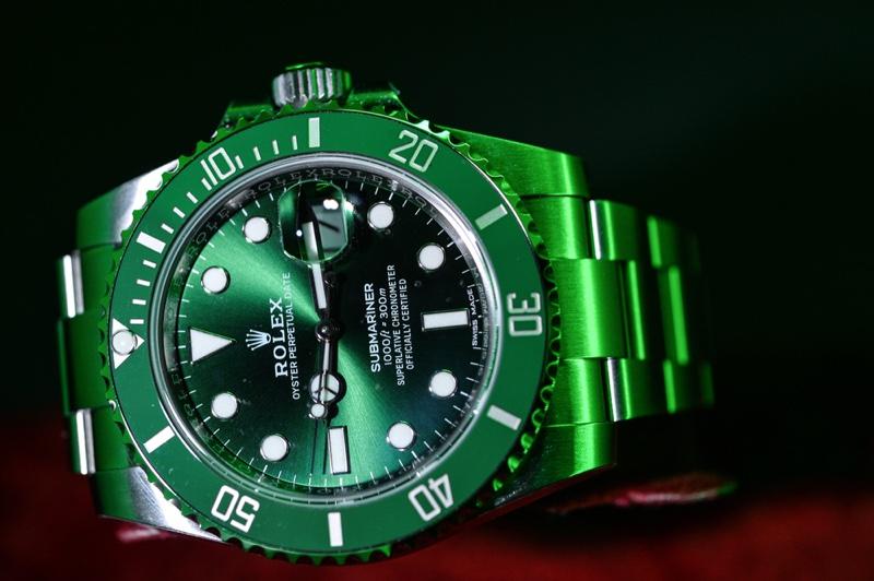 Rolex Green Sportswatch