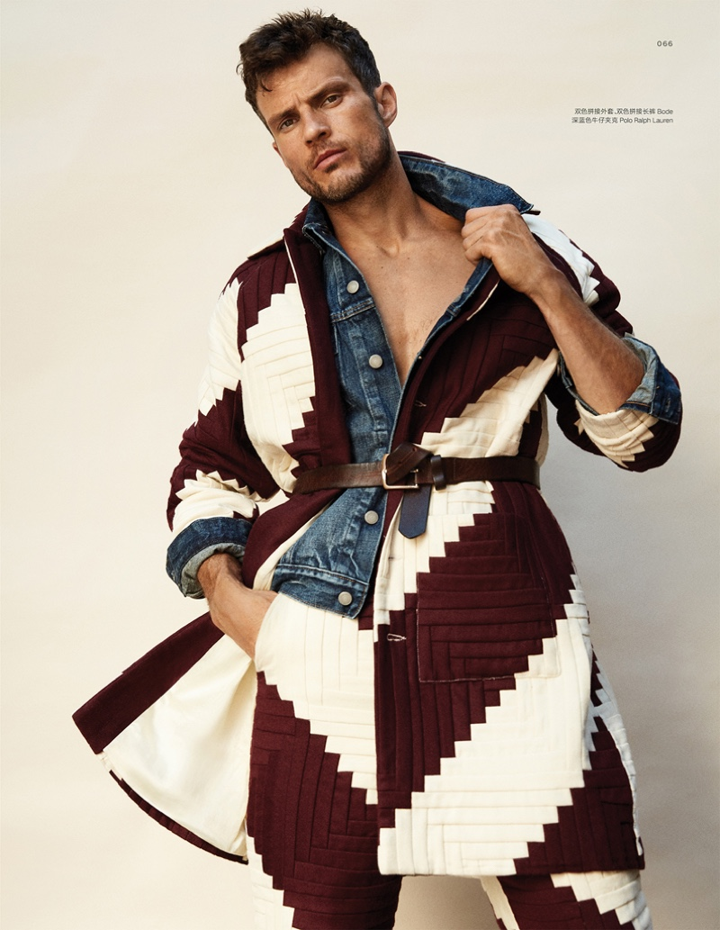 Be Free: Ryan Cooper Embraces Western Style for Esquire China