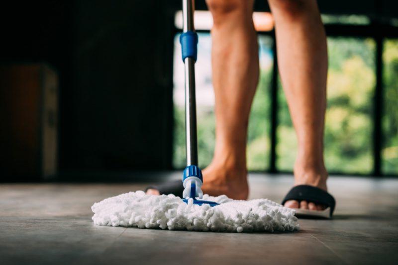 Slide Sandals Cleaning