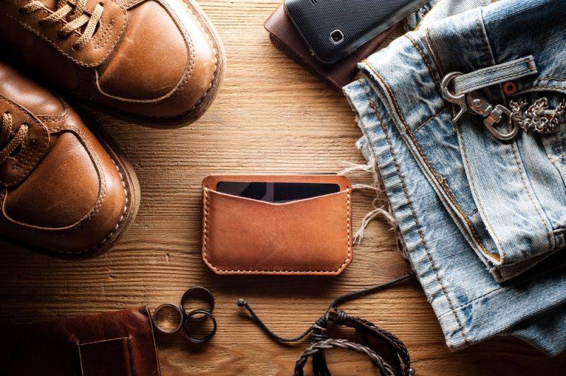 Slim Wallet Men's Accessories Jeans