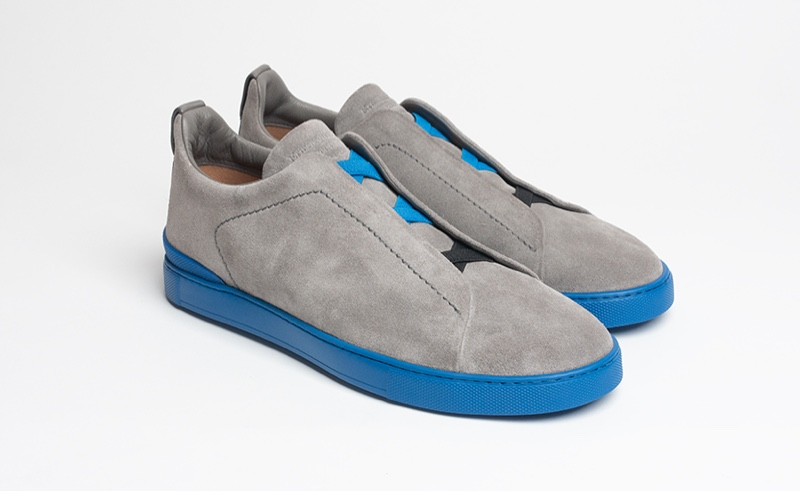 Steve Aoki x Zegna Triple Stitch Sneakers