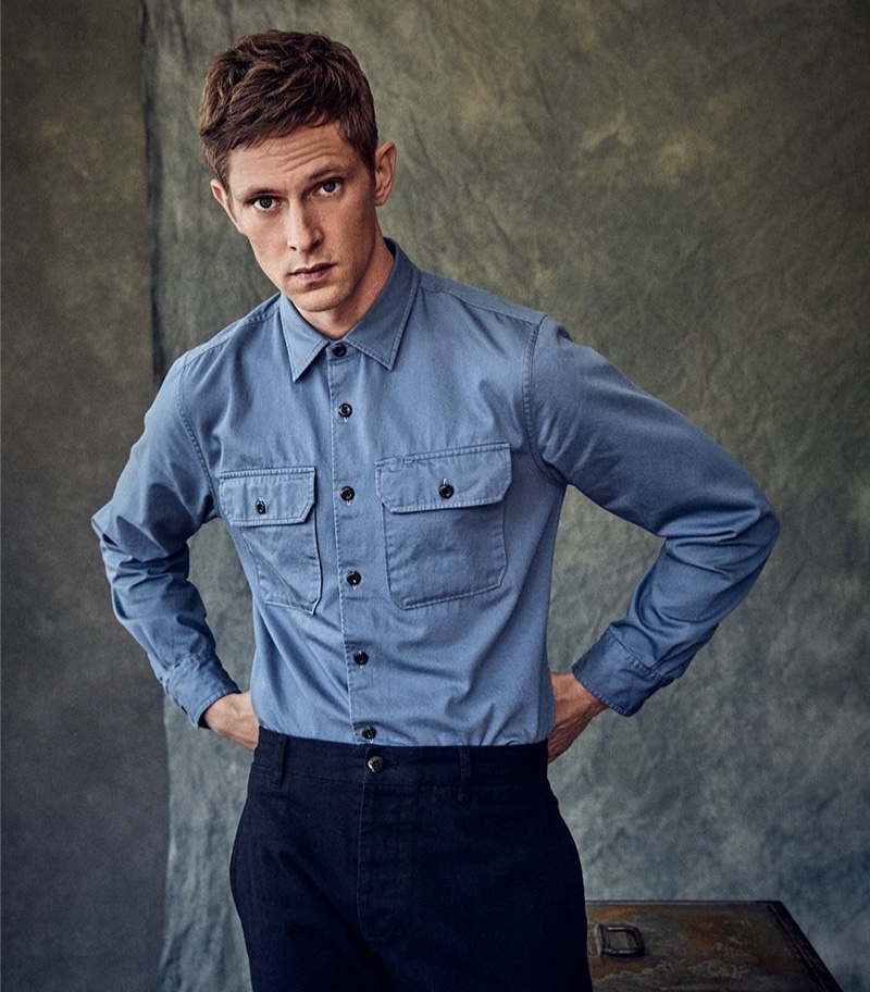 Mathias Lauridsen Dons Todd Snyder 10 Years Capsule Collection