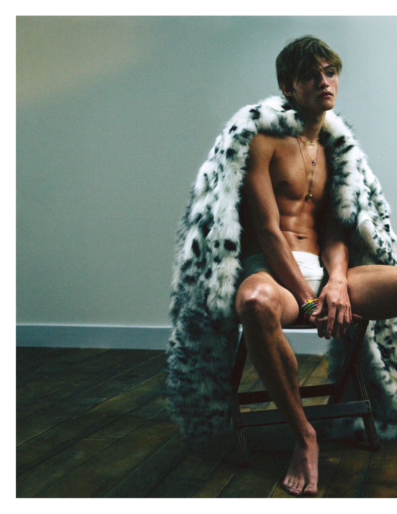 Parker, Mingus + More Star in Vogue Hommes Fall Cover Shoot