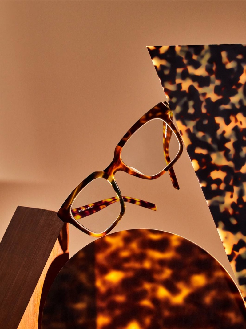 Winston glasses in Tortoise Collage from Warby Parker