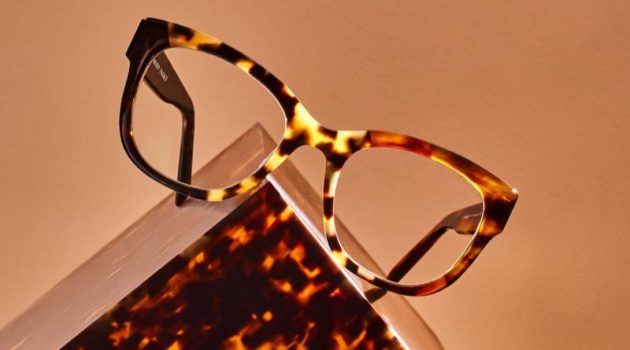 Tatum glasses in Tortoise Collage III from Warby Parker