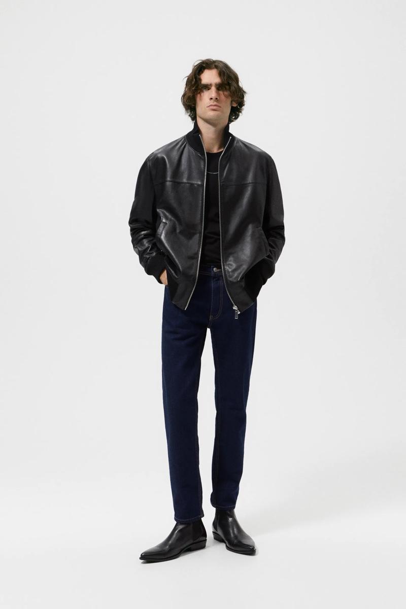 Marijn & Cherif Are Effortlessly Cool in Zara Rock Collection