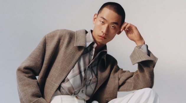 Zhuo Strikes a Pose in 'New-season Style' for Matches Fashion