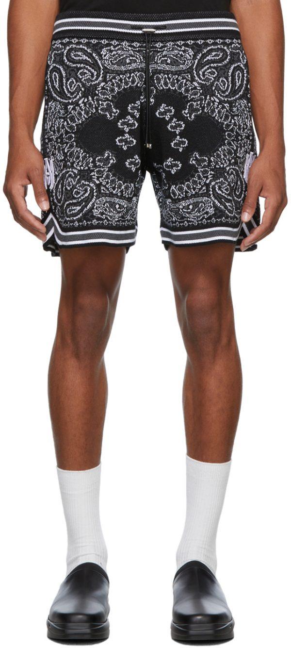 AMIRI Bandana B-Ball Shorts
