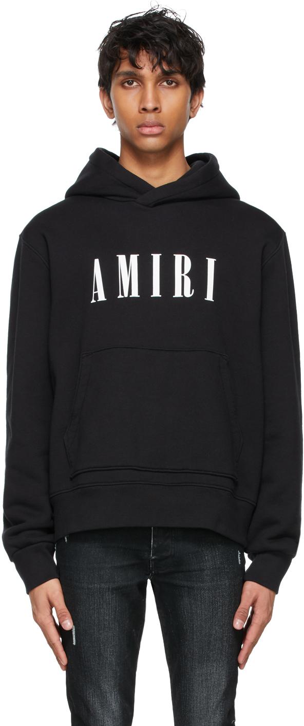 AMIRI Black Core Logo Hoodie