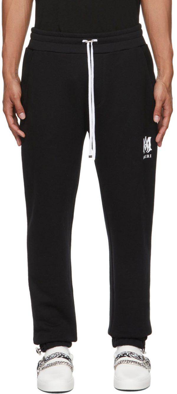 AMIRI Black Core Logo Lounge Pants