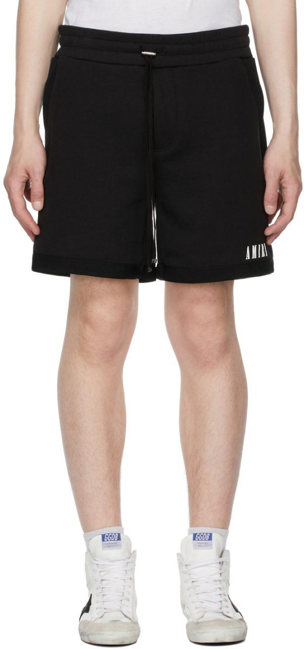 AMIRI Black Core Logo Shorts