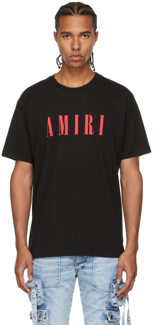 AMIRI Black Core Logo T-Shirt