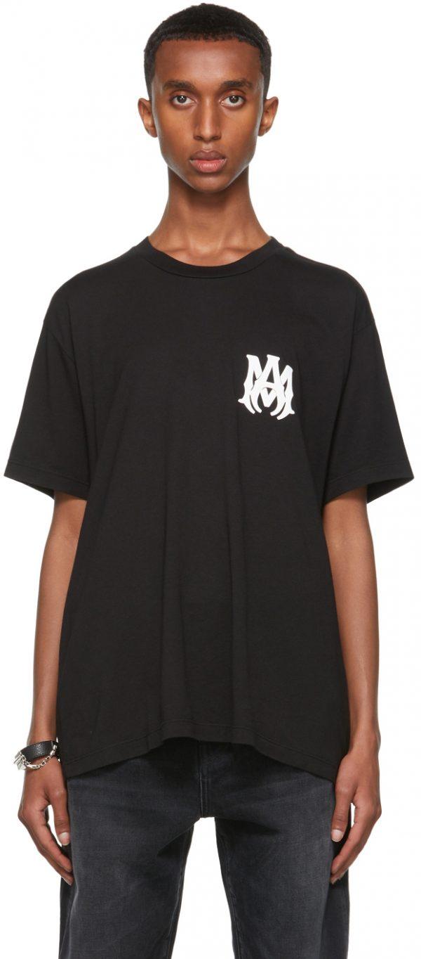 AMIRI Black 'M.A.' T-Shirt