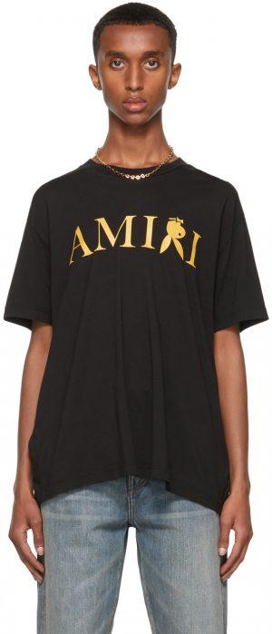 AMIRI Black Playboy Edition Reverse Bunny T-Shirt