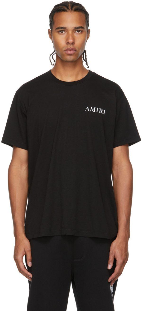 AMIRI Black Shaded Cherub T-Shirt