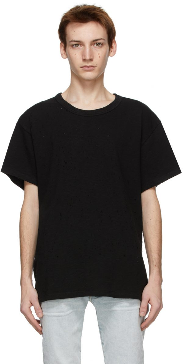 AMIRI Black Shotgun T-Shirt