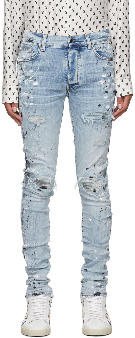 AMIRI Blue MX1 Painter Jeans