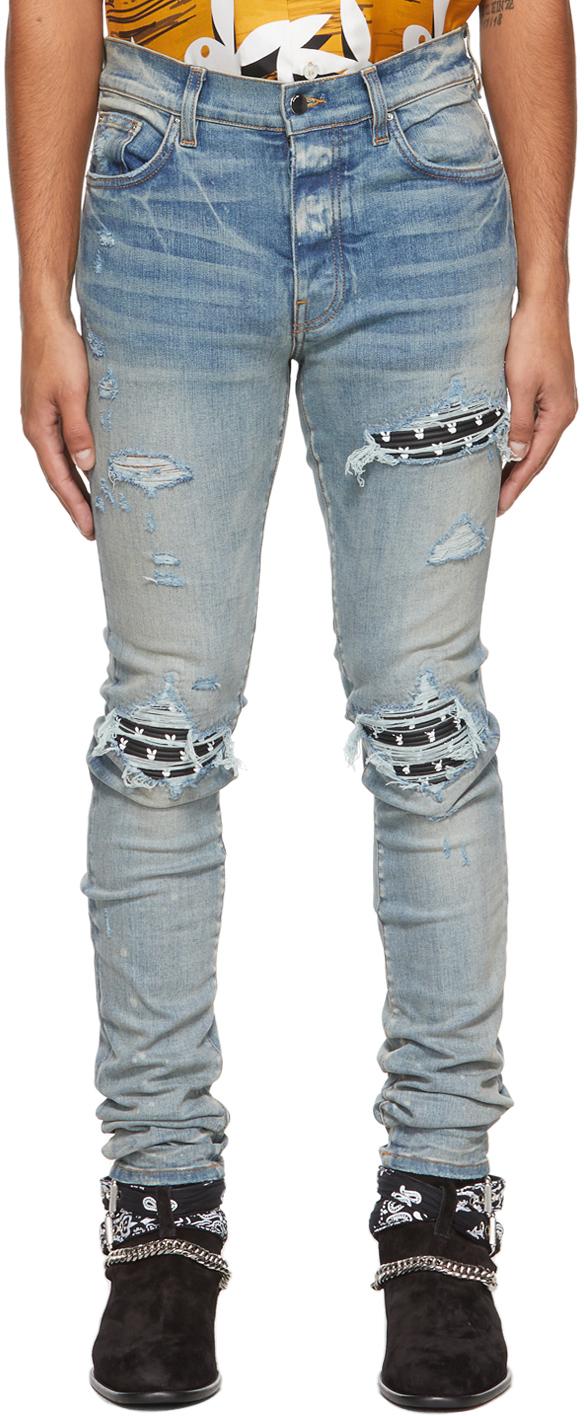 AMIRI Blue Playboy Edition MX1 Jeans