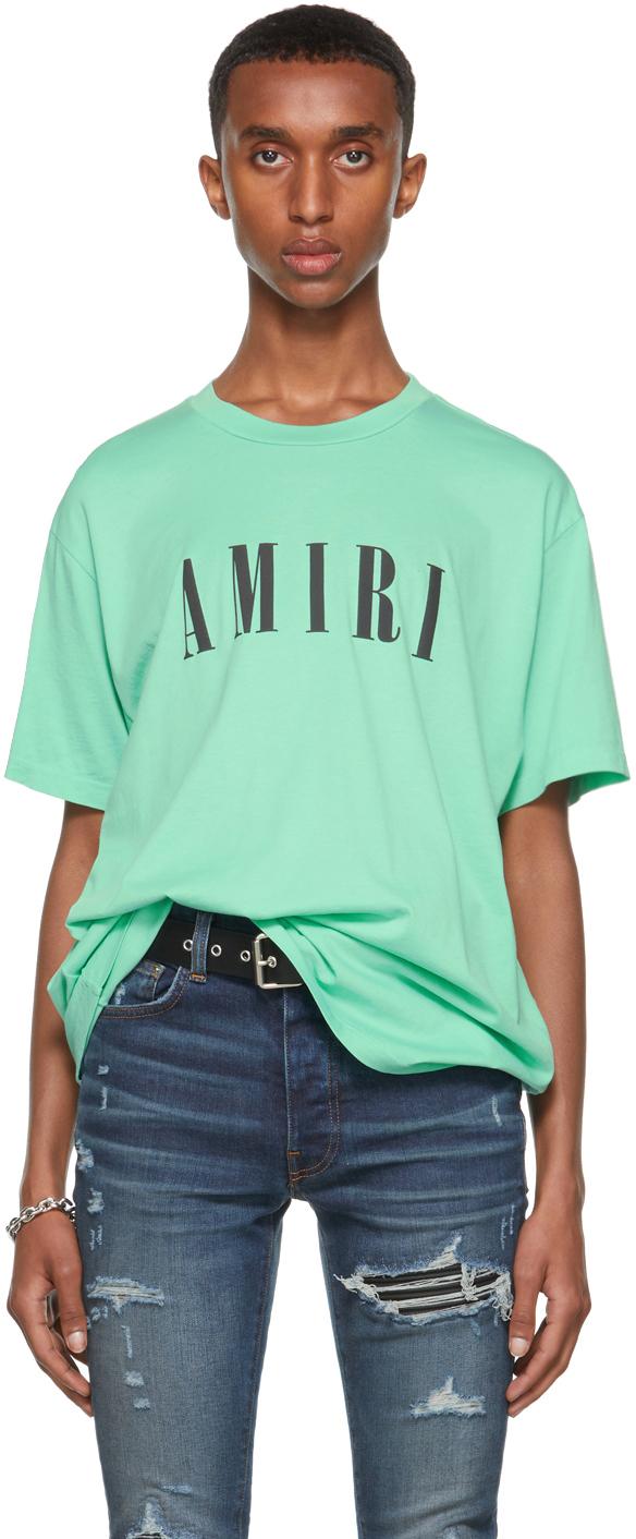 AMIRI Green Core Logo T-Shirt