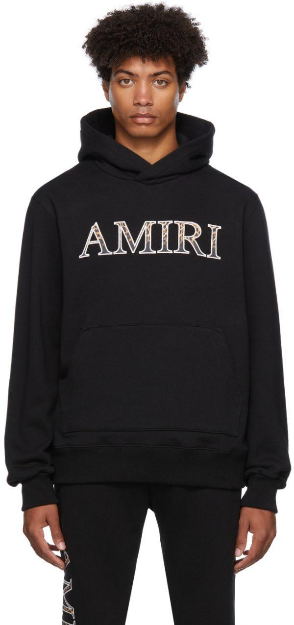 AMIRI Leopard Core Logo Hoodie