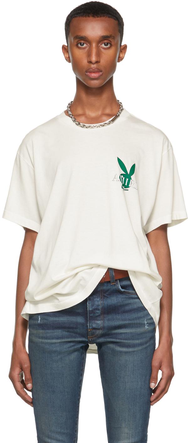 AMIRI Off-White Playboy Edition Cover Bunny T-Shirt