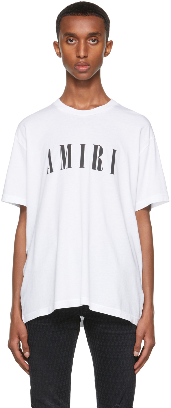 AMIRI White Core Logo T-Shirt