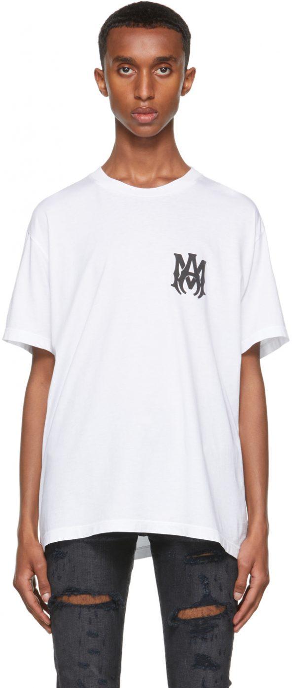 AMIRI White 'M.A.' T-Shirt