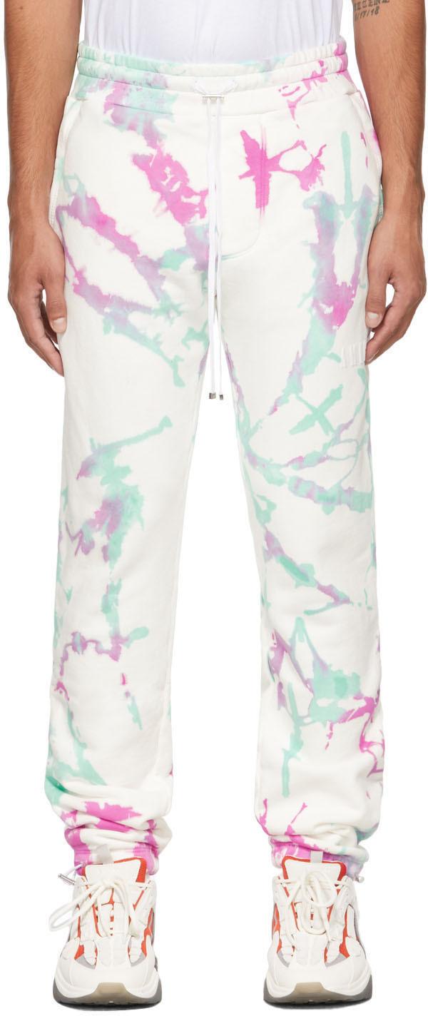 AMIRI White Tie Dye Lounge Pants